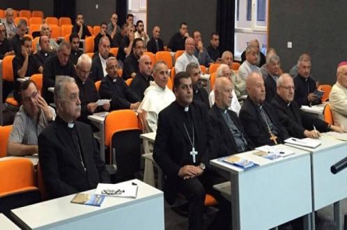 بدء الرياضة الروحية السنوية لكهنة العراق الكلدان